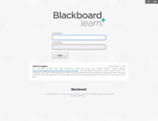 blackboard.iavalley.edu screenshot