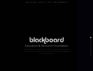 blackboardindia.com screenshot