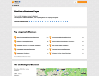 blackburn.opendi.com.au screenshot