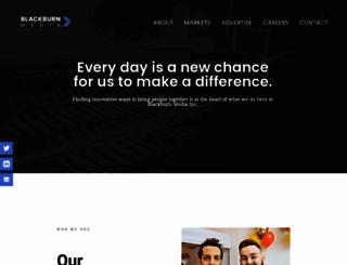 blackburnradio.com screenshot