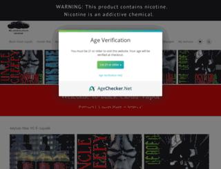 blackcloudvapor.com screenshot
