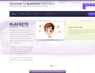 blackeyegreetings.net screenshot