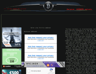 blackfaucet.info screenshot