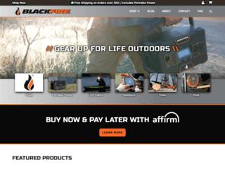 blackfire-usa.com screenshot