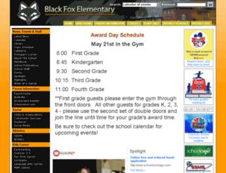 blackfox-es.bradleyschools.org screenshot