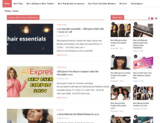 blackhairclub.com screenshot