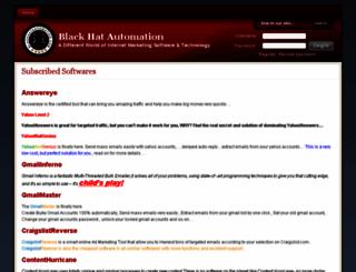 blackhatautomation.com screenshot