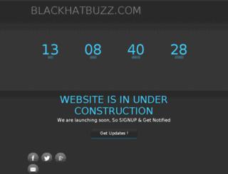 blackhatbuzz.com screenshot