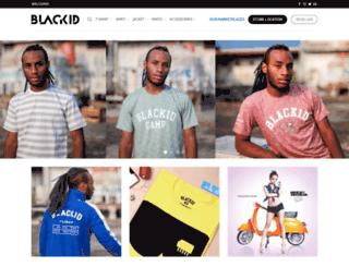 blackidclothing.com screenshot