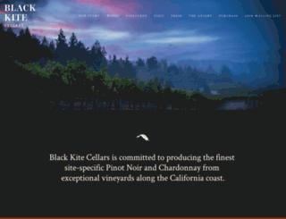blackkitecellars.com screenshot