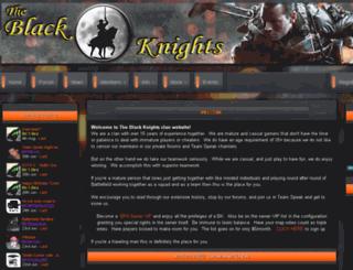 blackknightsclan.com screenshot