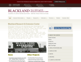 blackland.tamu.edu screenshot
