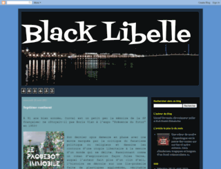 blacklibelle.blogspot.fr screenshot