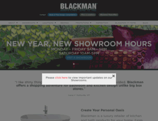 blackman.com screenshot