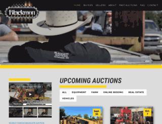 blackmonauctions.com screenshot