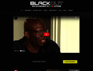 blackoutcoalition.org screenshot