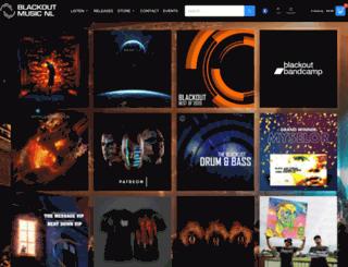 blackoutmusic.nl screenshot