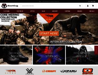 blackovis.com screenshot
