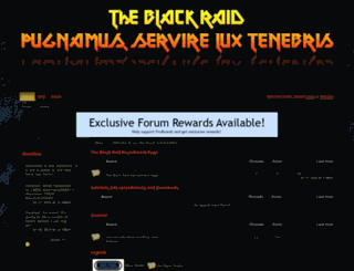 blackraidelite.freeforums.net screenshot