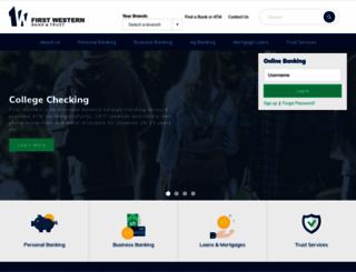 blackridgebank.com screenshot