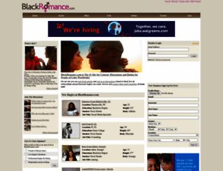 blackromance.com screenshot
