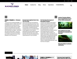 blacksea-crimea.com screenshot