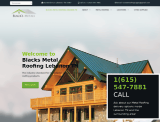 blacksmetals.com screenshot