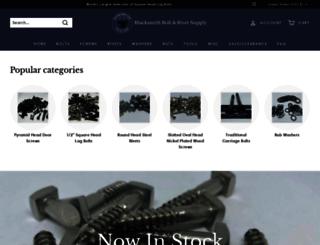 blacksmithbolt.com screenshot