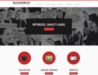 blacksmithinteractive.com screenshot