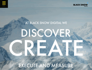 blacksnowdigital.co.za screenshot