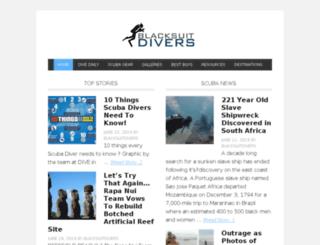 blacksuitdivers.com screenshot