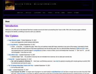 blackviper.com screenshot