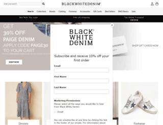 blackwhitedenim.com screenshot