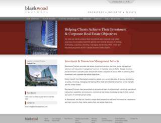 blackwoodpartners.com screenshot