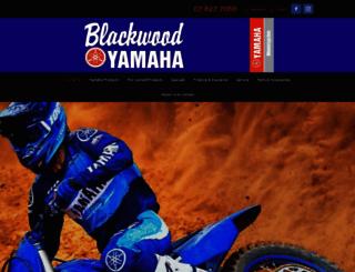 blackwoodyamaha.co.nz screenshot