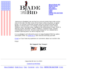 bladebid.com screenshot