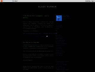 bladerunner32.blogspot.com screenshot