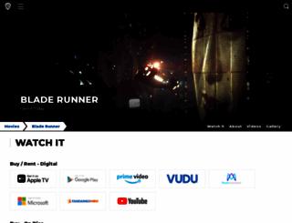 bladerunnerthemovie.warnerbros.com screenshot