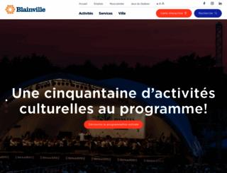 blainville.ca screenshot