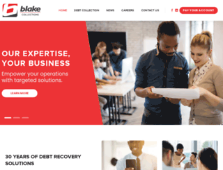blake.co.za screenshot