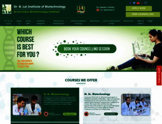 blalbiotech.com screenshot