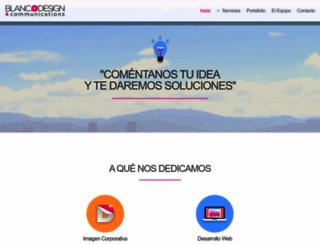 blanc-design.com screenshot
