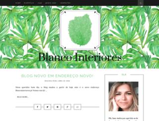 blancointeriores.blogspot.pt screenshot