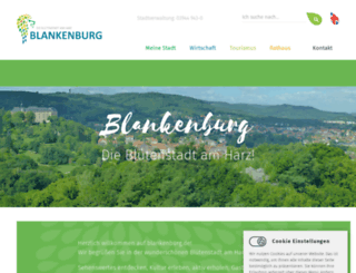 blankenburg.de screenshot