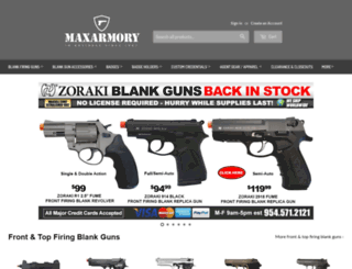 blankgunstore.com screenshot