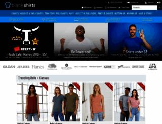 blankshirts.com screenshot