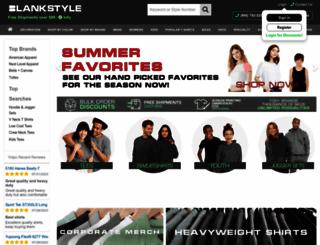 blankstyle.com screenshot