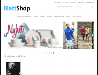 blattshop.no screenshot