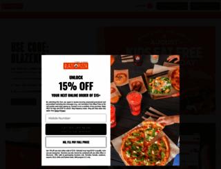 blazepizza.com screenshot
