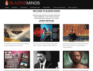 blazingminds.co.uk screenshot